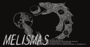 The cover of Melismas