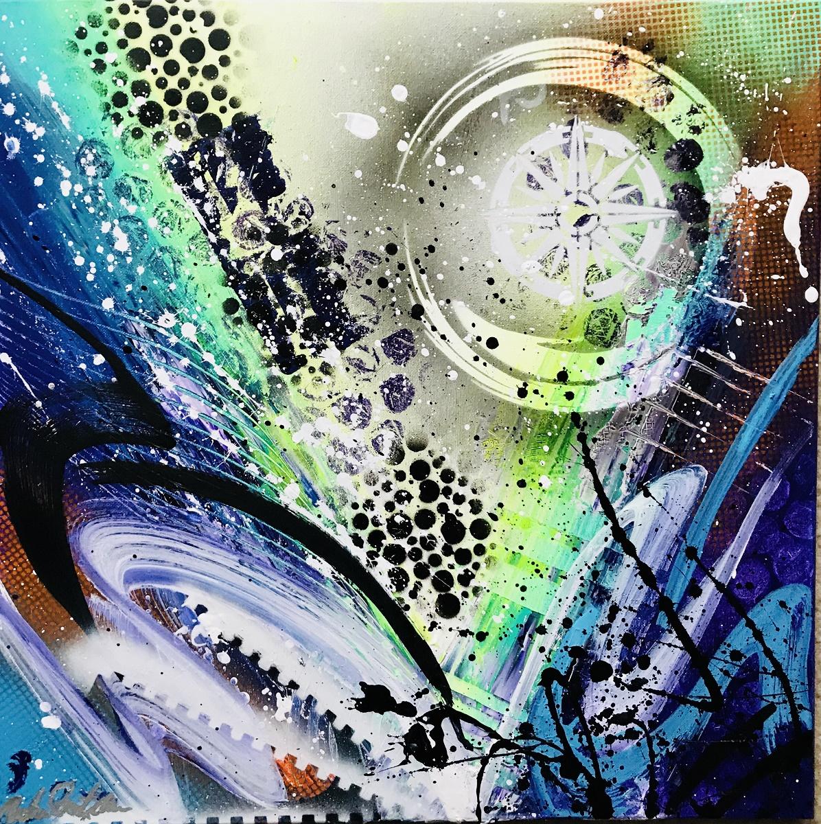 Punkmetal Abstract by Abraham Darlington