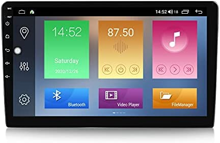 Android 11 Car Radio for for Universal Car Touch Screen IPS DSP 10.1 inches Car Stereo Support Cooling Fan 3G+32G GPS Carplay Multimedia Navigation for Car