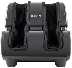 HoMedics, Therapist Select Foot and Calf Massager Rolling Massage, 4 Programs, 3 Intensities, Adjustable Tilt for Comfort, and Washable Liners