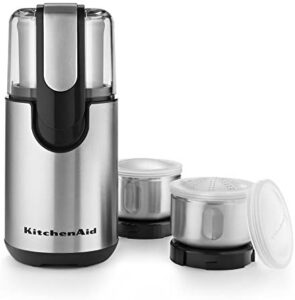KitchenAid Blade Coffee and Spice Grinder Combo Pack - Onyx Black