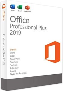 Lifetime License for Office 2019 Professional Plus 1PC