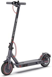 Macwheel MX PRO Electric Scooter, Max Speed 15.5MPH, Max Range 25 Miles, Foldable, Dual Braking, 8.5in Maintenance Free Tires, Electric Scooter for Adults
