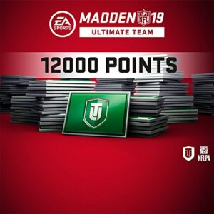 Madden NFL 19 MUT 12000 Points Pack (In Game) PS4 [Digital Code]