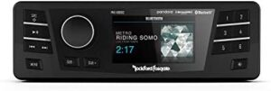 Rockford Fosgate PMX-HD9813 Replacement Radio with Smartphone Connection for 1998-2013 Harley-Davidson