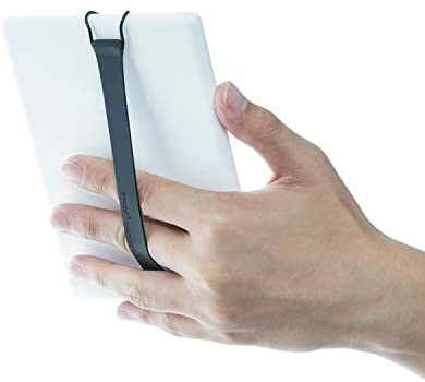 TFY Security Hand Strap Compatible with Kindle Voyage/Kindle Paperwhite/Kindle Fire 6Inch - Black (ONE Piece)