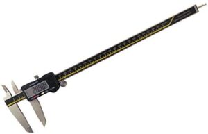 """Absolute Digital Caliper 12"""" / 300 mm Digital Calipers Accurate to 0.0015""""/12"""" Hardened Stainless Steel ODC-12"""