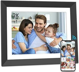 FULLJA 11 inch WiFi Digital Picture Frame, 2K Untra HD 2176x1600 IPS Touch Screen Smart Cloud Digital Photo Frame, 16GB Storage, Motion Sensor, Easy to Share Photos and Videos Via App, Email, Cloud