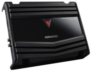 Kenwood 500W 2 Channels Dual Performance Standard Series Stereo Power Car Amplifier with Gravity Magnet Phone Holder Bundle