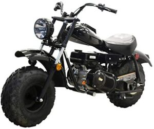 Massimo Motor MB200 196CC Engine Super Size Mini Moto Trail Bike MX Street for Kids and Adults Wide Tires Motorcycle Powersport CARB Approved