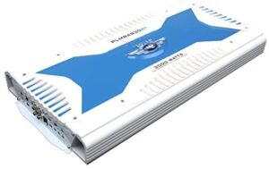 Pyle Hydra Marine Amplifier - Upgraded Elite Series 3000 Watt 8 Channel Bridgeable Amp Tri-Mode Configurable, Waterproof, MOSFET Power Supply, GAIN Level Controls and RCA Stereo Input (PLMRA830BT)