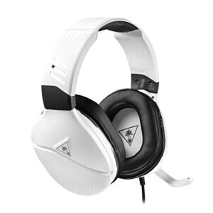 Turtle Beach Recon 200 White Amplified Gaming Headset for Xbox Series X|S, Xbox One, PlayStation 5, PS4 Pro & PS4, Nintendo Switch, PC, and mobile devices