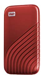 WD 1TB My Passport SSD External Portable Solid State Drive, Red, Up to 1,050 MB/s, USB 3.2 Gen-2 and USB-C Compatible (USB-A for Older Systems) - WDBAGF0010BRD-WESN