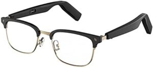 WGP Smart Audio Glasses Metal Frame Touch Control Optical Lens Replaceable for Reading Gaming Driving