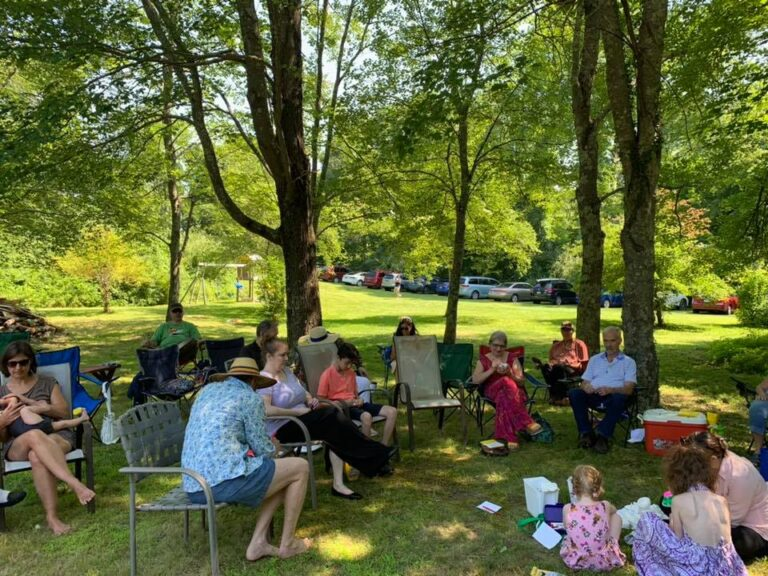 Outdoor Picnic and Worship