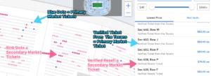 Ticketmaster Resell Tickets