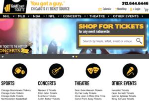 GoldCoast Tickets Chicago