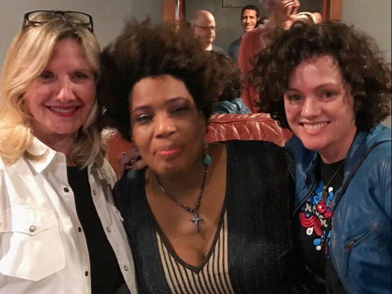 Linda Lewis, Melissa Donovan and Artist Macy Gray