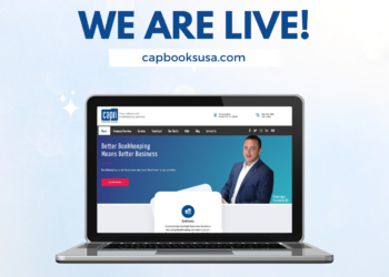 New Site Launch Capri Bookkeeping