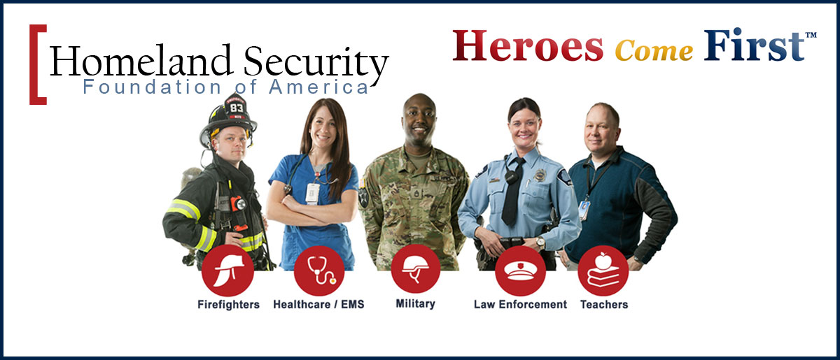 Homeland Security Foundation of America (HSFA) Partners with Access National Mortgage on Their Heroes Come First Program
