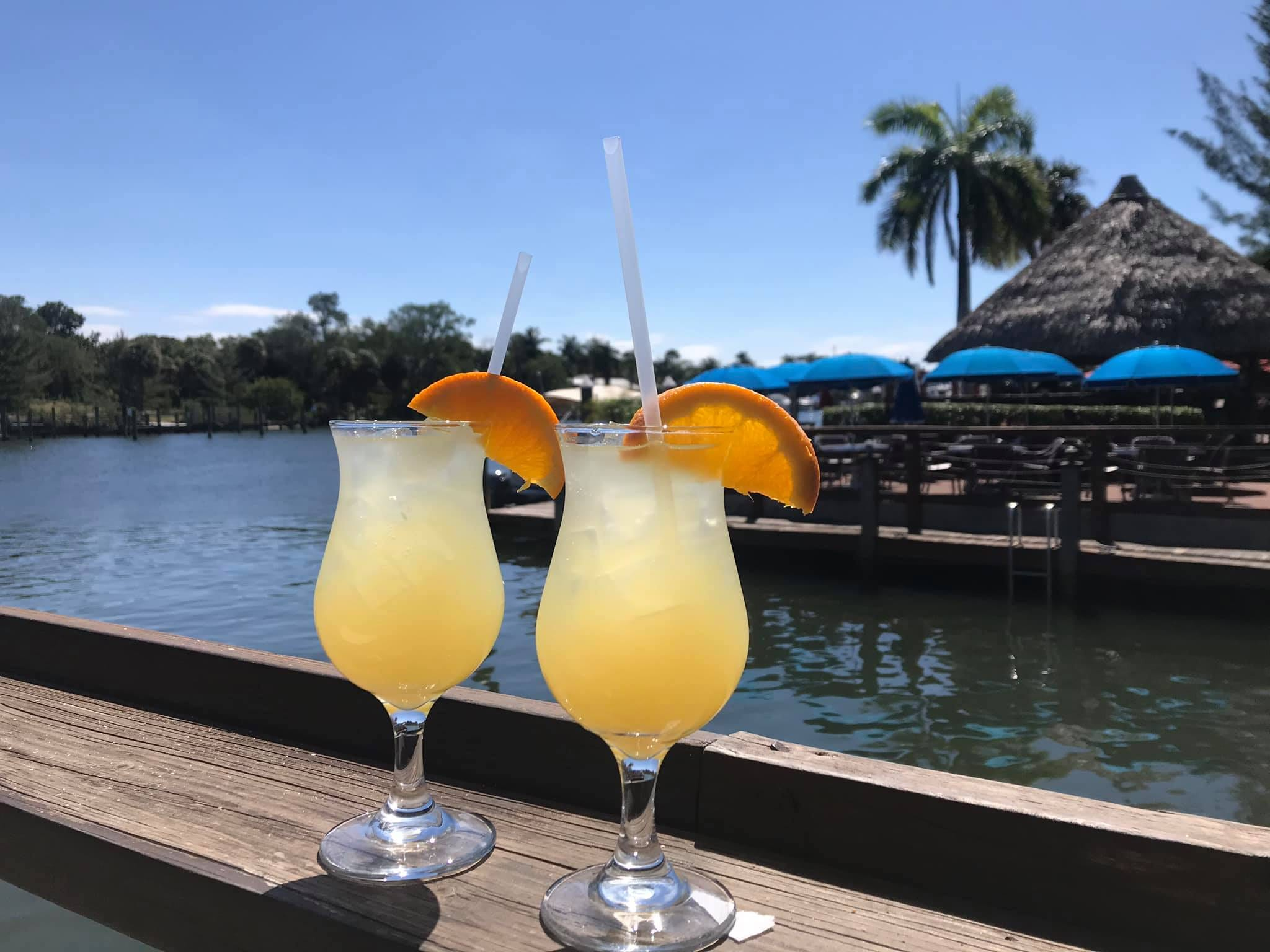 Cocktails at Waterway