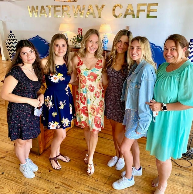Waterway Cafe welcome picture