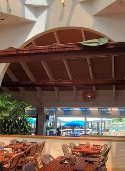 Waterway Cafe Dining Area