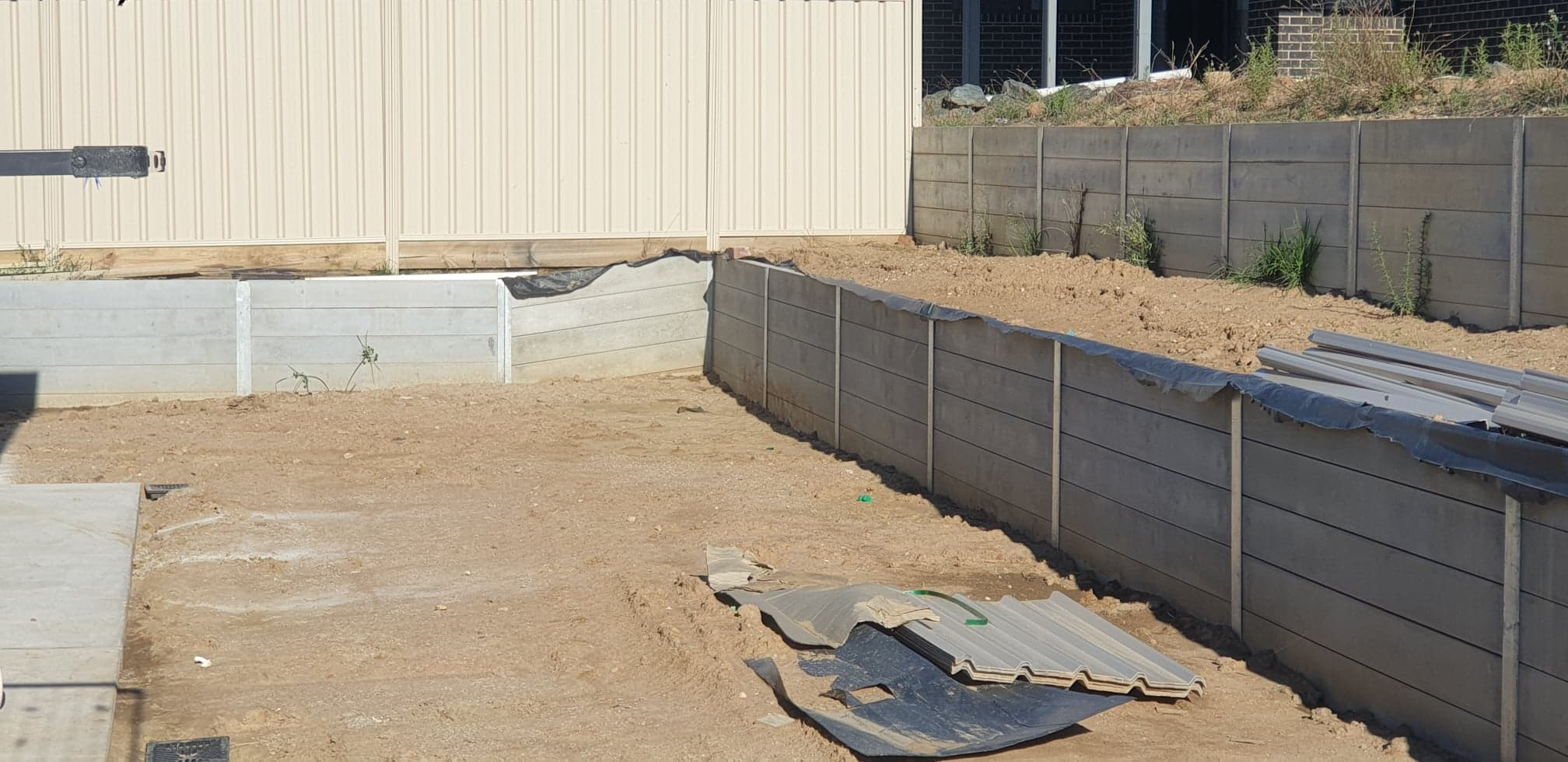 Albury Wodonga Retaining walls