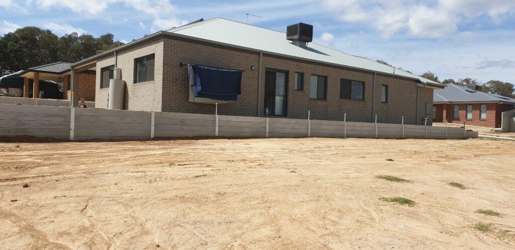 Retaining walls Albury Wodonga