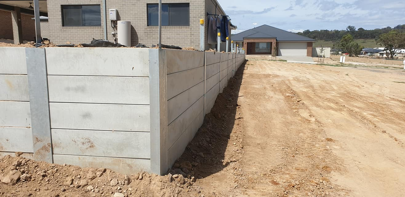 Retaining Wall Albury Wodonga