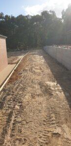 Retaining walls albury