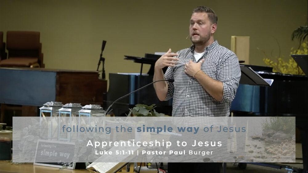 Apprenticeship to Jesus Image