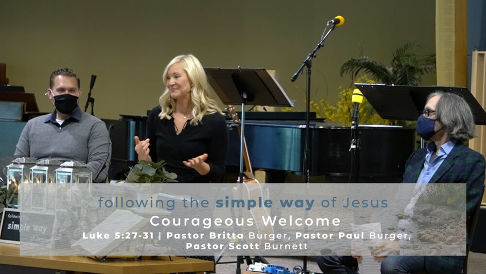 Courageous Welcome Image