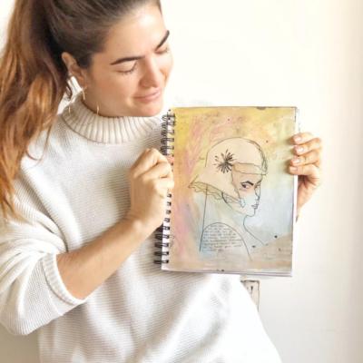 Art Journal: todo lo que necesitas saber + prompts para empezar
