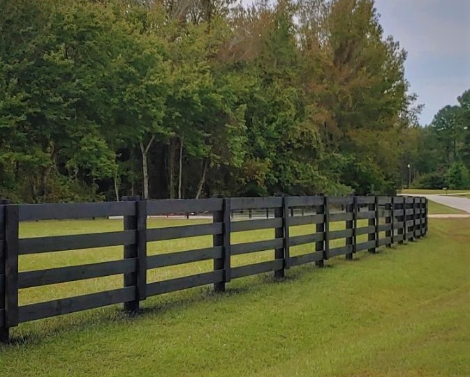 Split Rail Farm Fence