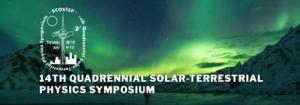 14th Quadrennial Solar-Terrestrial Physics Symposium logo