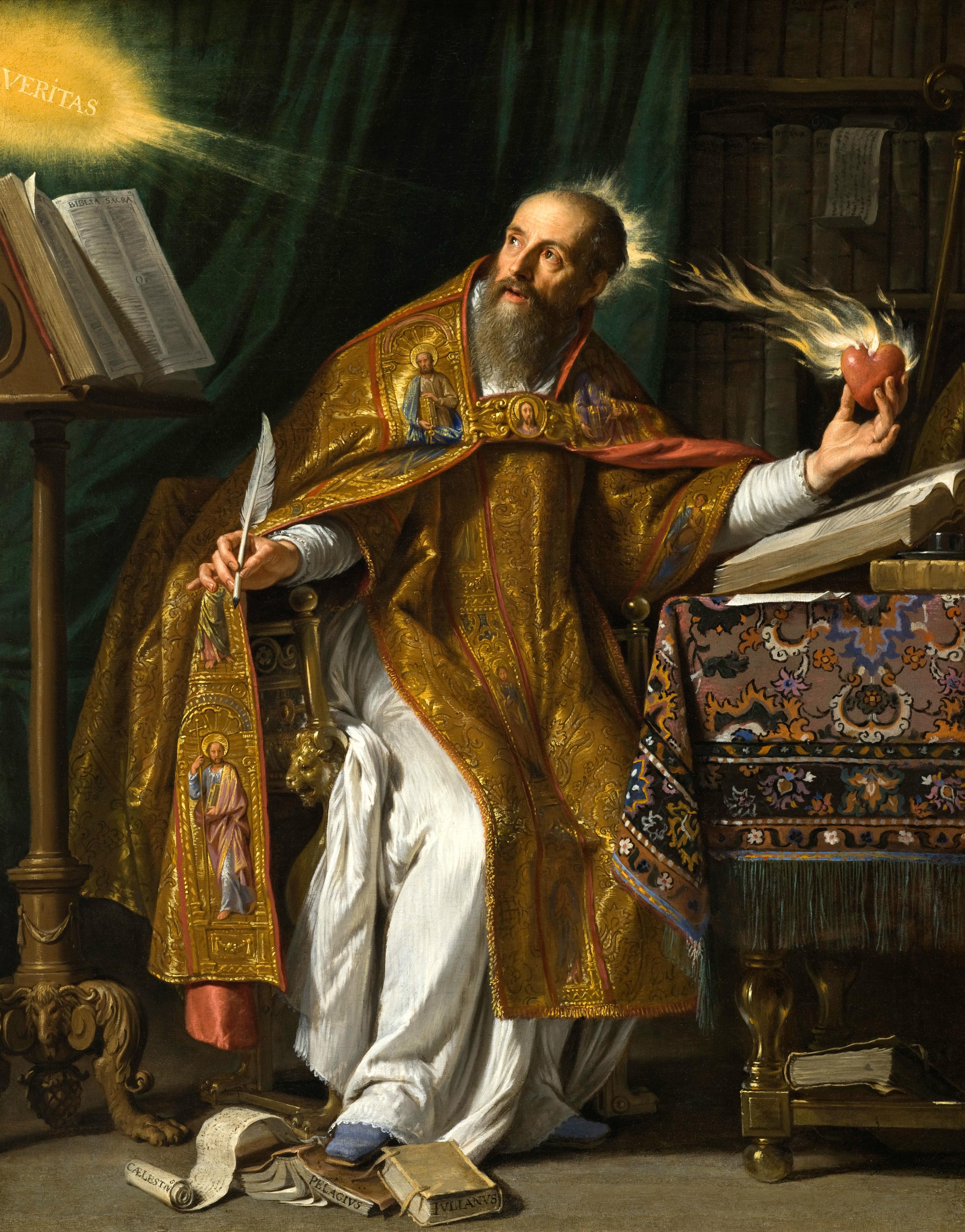 Saint Augustine by Philippe de Champaigne