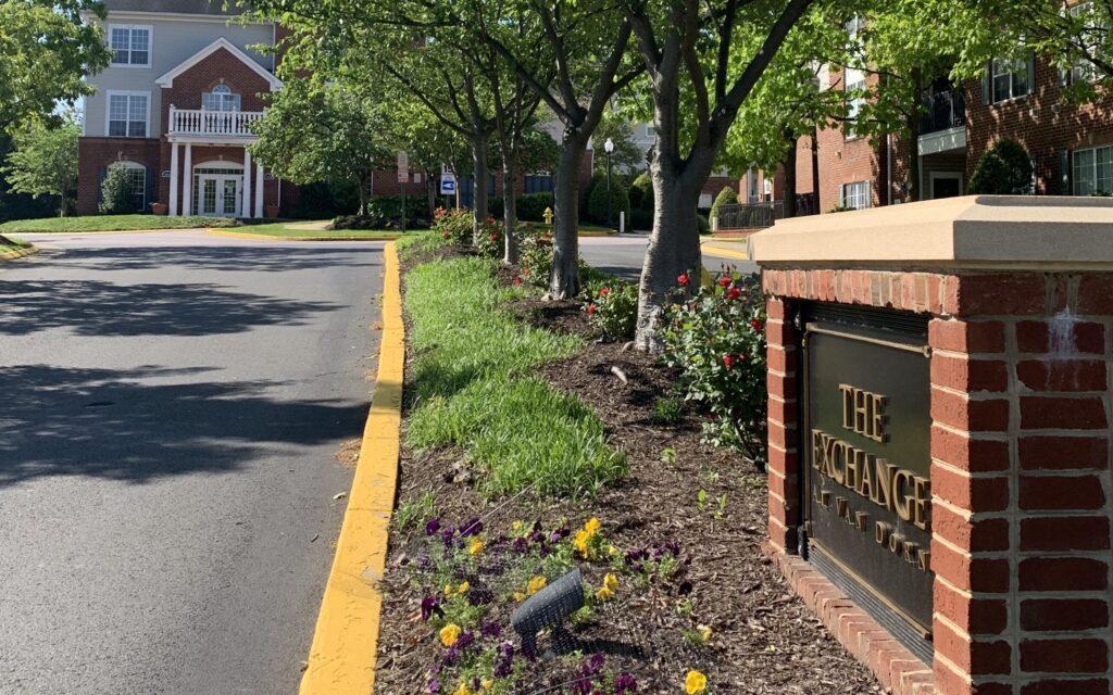 About Exchange at Van Dorn community Eisenhower entrance