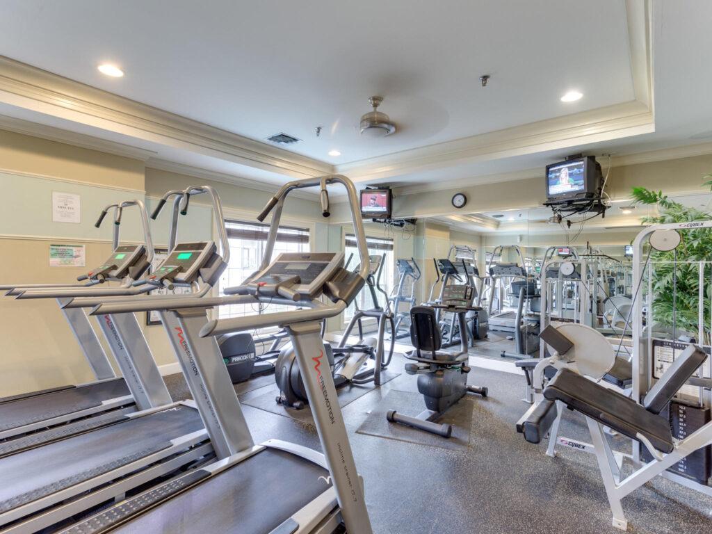 Exchange at Van Dorn Condos fitness room 1