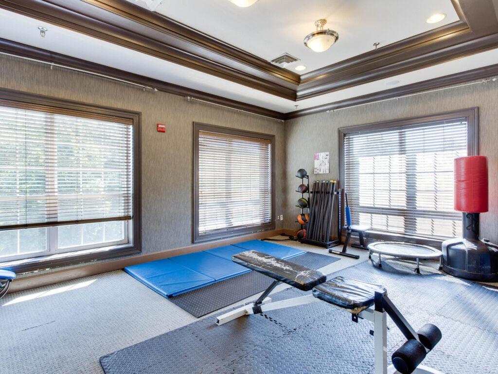 Exchange at Van Dorn Condos fitness room 2