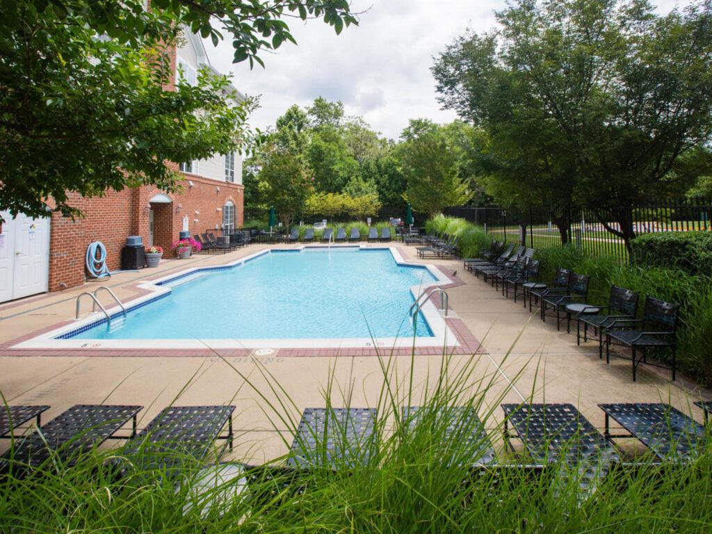 Exchange at Van Dorn Condos pool
