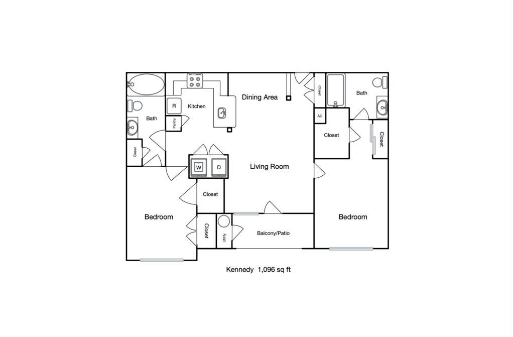 Kennedy unit floor plan
