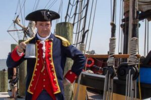 Alexandria Virginia Waterfront Tall Ship