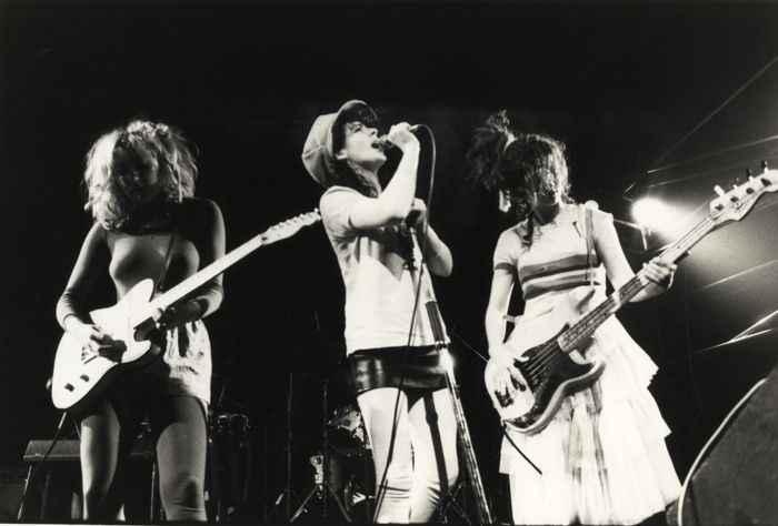 The Slits Tessa Pollitt female punk new wave Rotosound strings