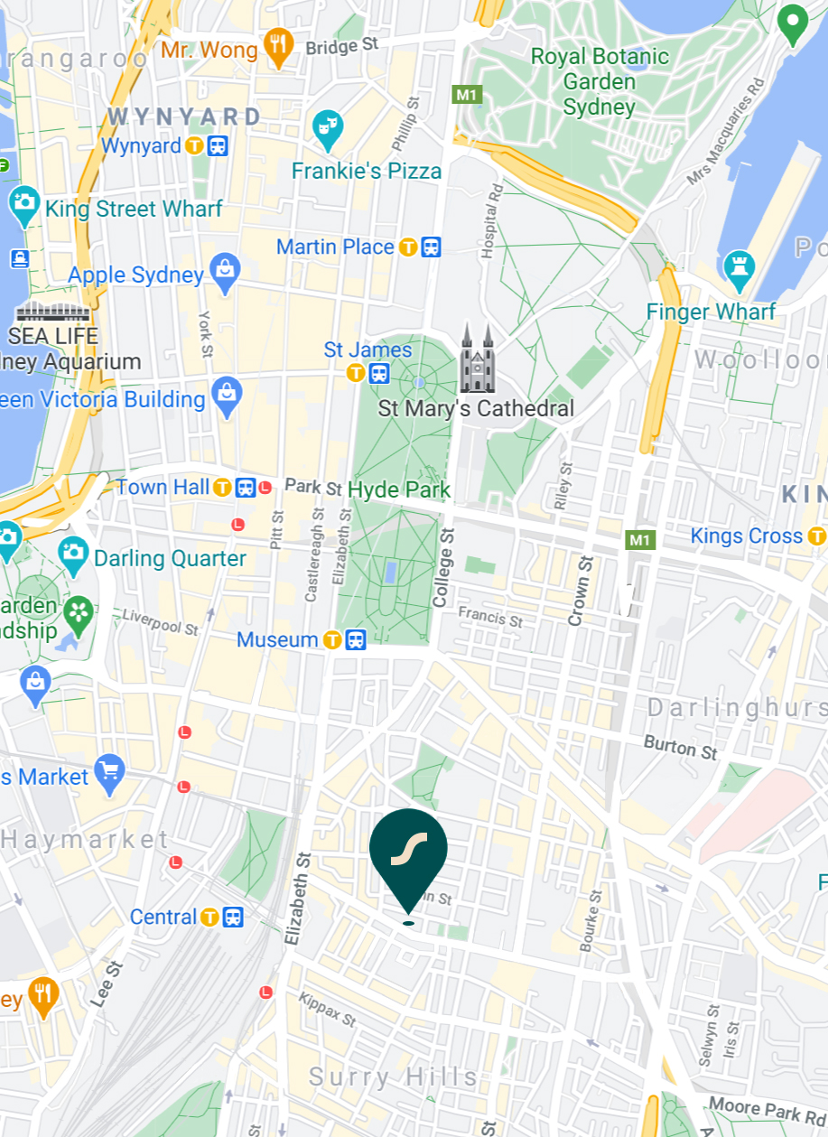 shaffa_surry_hills_location_map_mobile