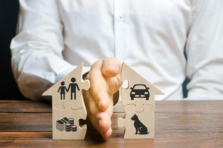 property division upon separation in Melbourne