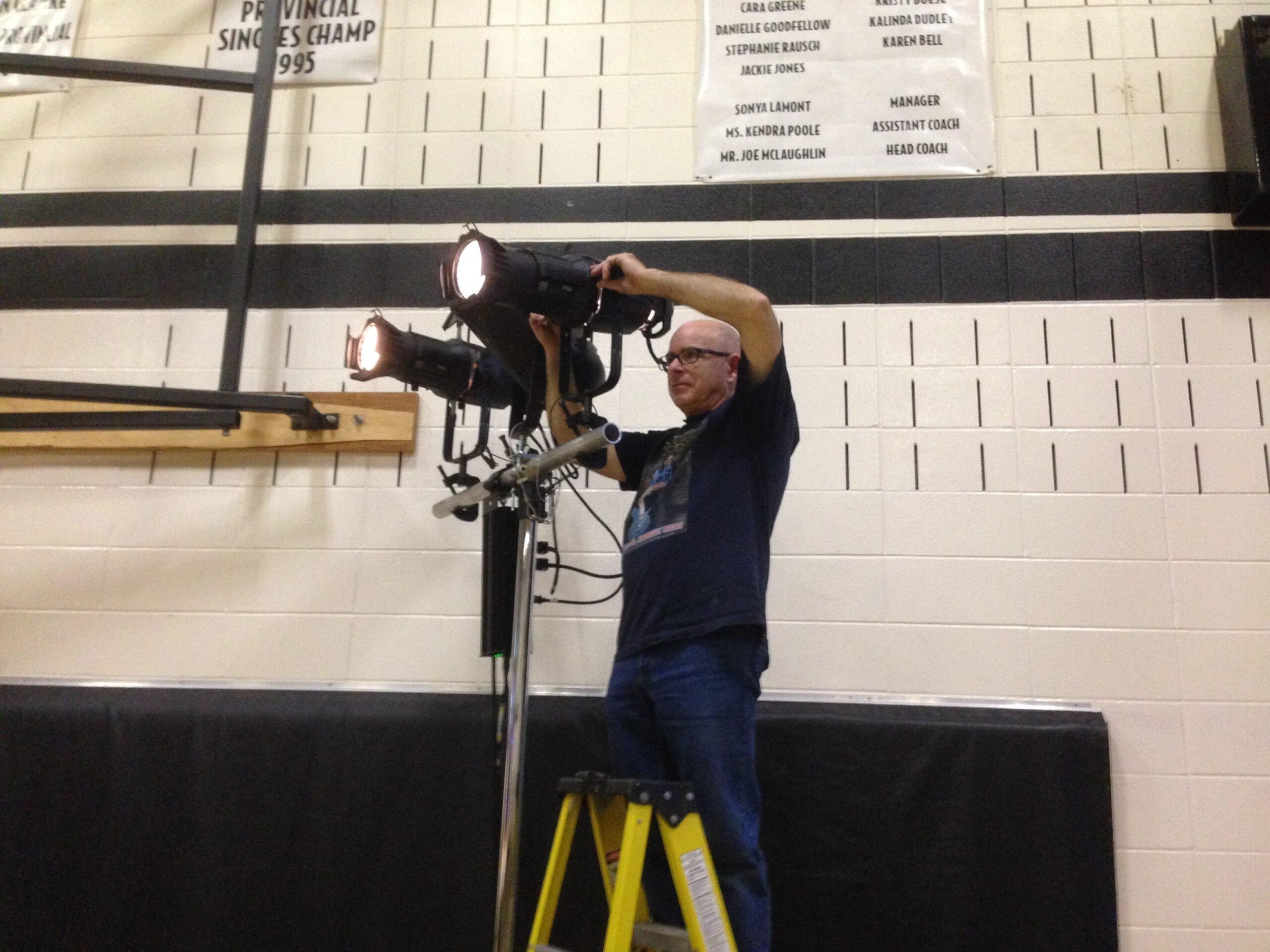 Audio Visual Lighting Technician