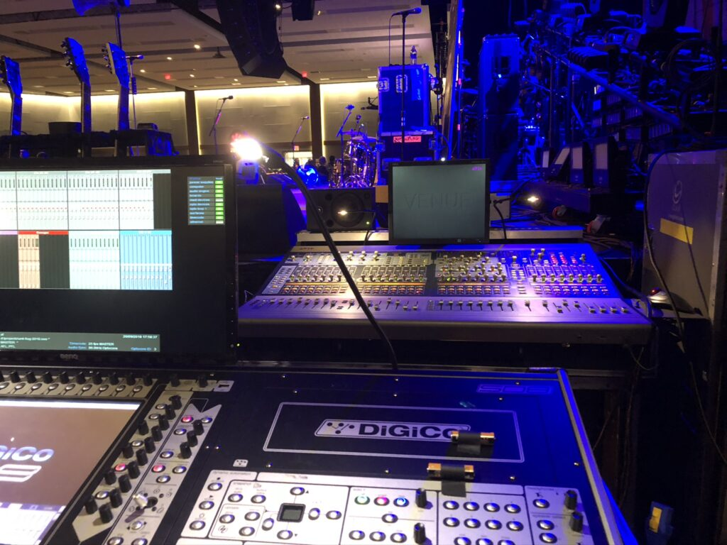 Digital audio visual consoles Calgary