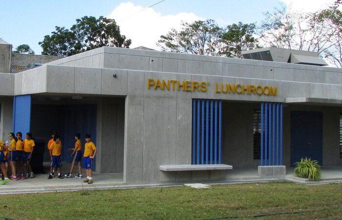Caribbean School Lunchroom