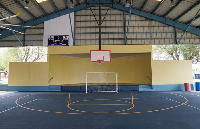 Caribbean School basketball court